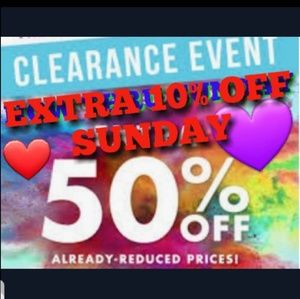 Other - 60% OFF ALREADY CLEARANCE PRICES🌟🌟SAVE HUGE%🌟🌟